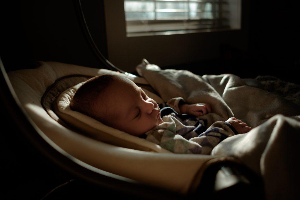 Abfall Sauerstoffsättigung Baby